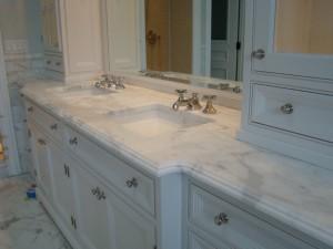 Bathroom Countertops, granite and marble vanity tops
