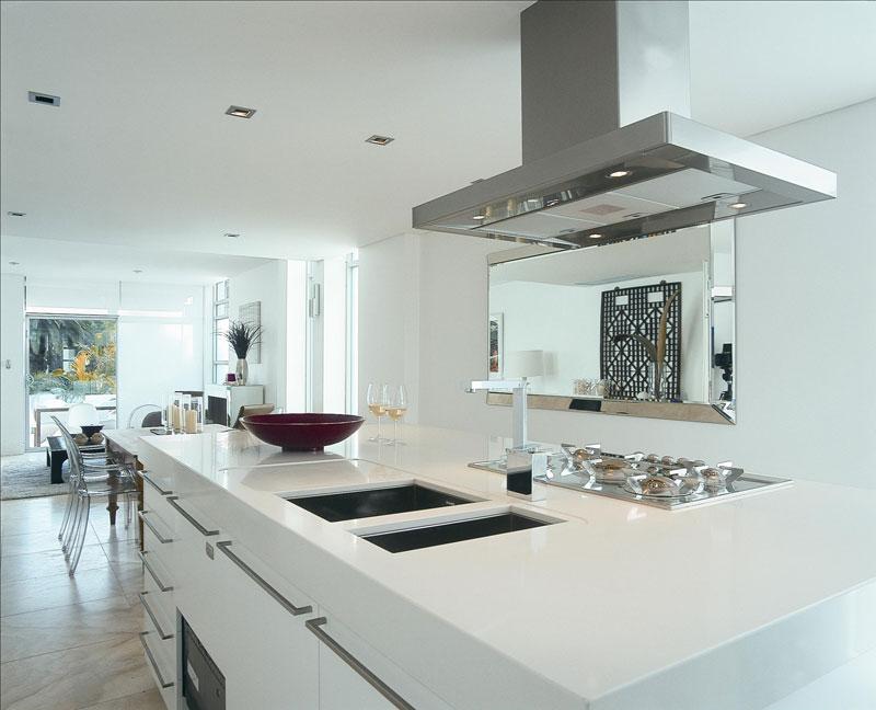 Minimalist White Quartz Countertop Photos - Model Of engineered quartz countertops Simple Elegant