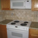 Granite Countertop, Kitchen Tile Backsplash Design