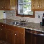 Granite Countertop, Touchdown Backsplash Tile