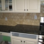 Granite Countertop, Unique Kitchen Backsplash Design