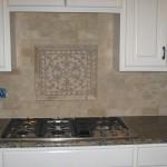 Granite Countertop, Modern Kitchen Backsplash Tile