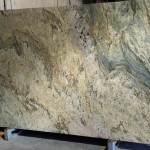 Typhoon Green Polished Granite Countertop