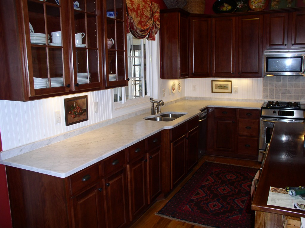 White Carrara Honed - Fayetteville Granite Countertop ...