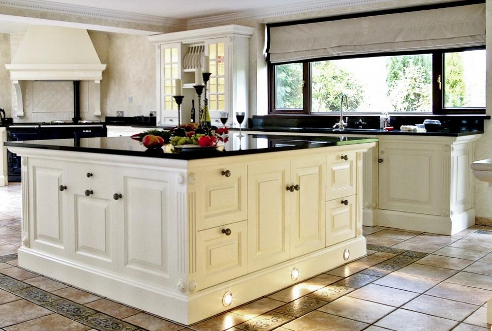 Black Granite Countertops Kitchen Design in Metro Atlanta