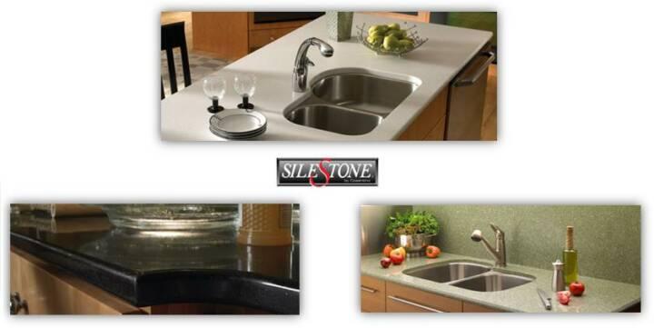 Silestone Granite Countertops Kitchen Design in Atlanta GA