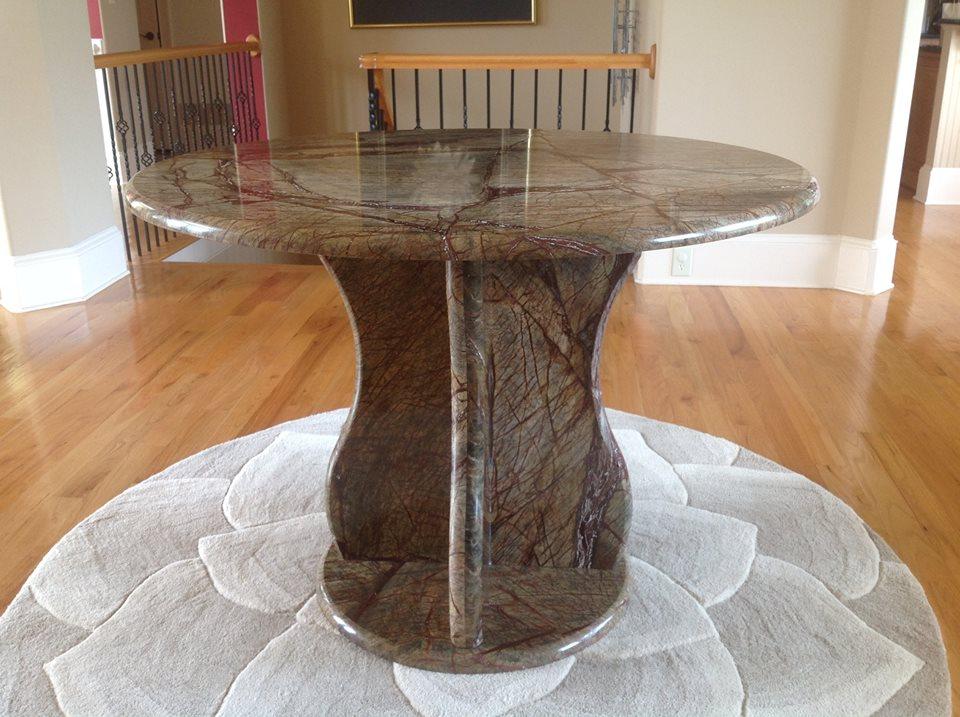 Rainforest Brown Marble, Granite Countertop