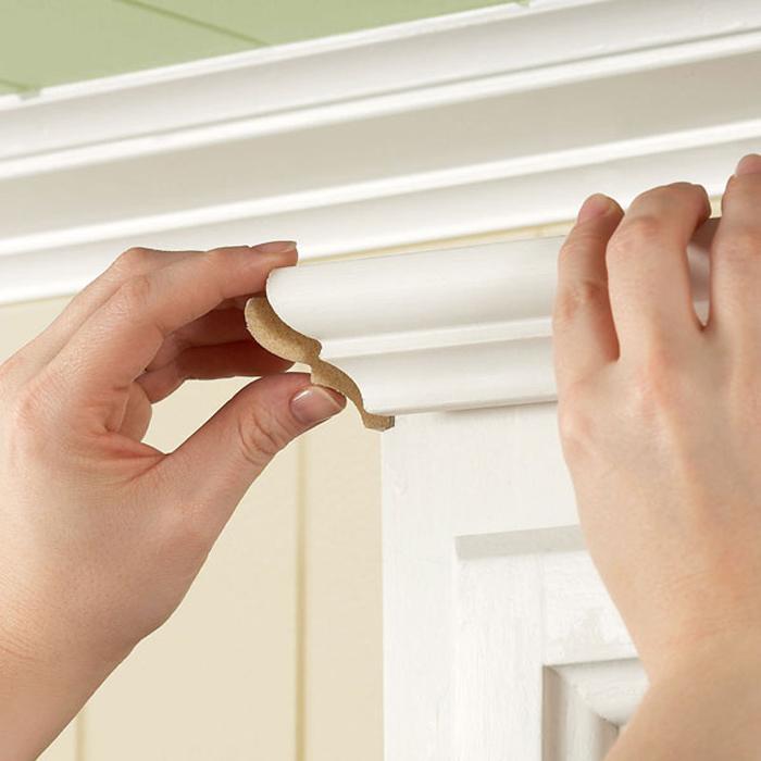 Kitchen Cabinet Crown Molding Installation
