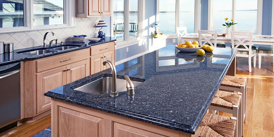 Incroyable Get An Amazing Kitchen With Blue Granite Countertops