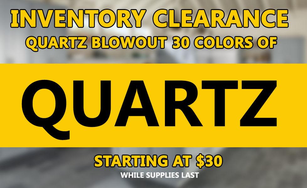 Inventory-Clearance-Quartz
